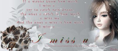 miss u greeting ! Heart touching lines ! Missing u quotes ! I miss u