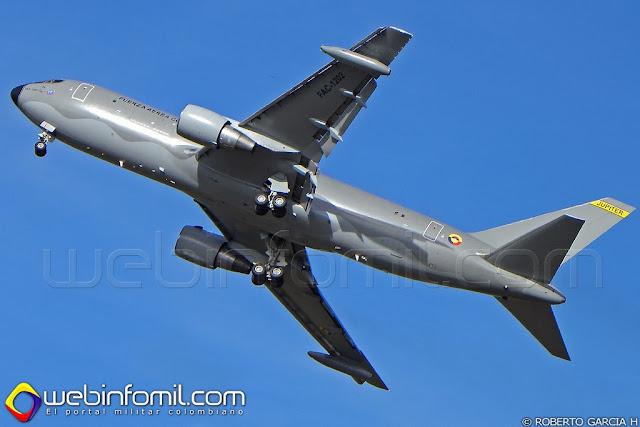 Boeing KC-767 Fuerza Aerea Colombiana