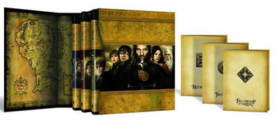 The Lord of the Rings The Motion Picture Trilogy Blu-Ray Box.