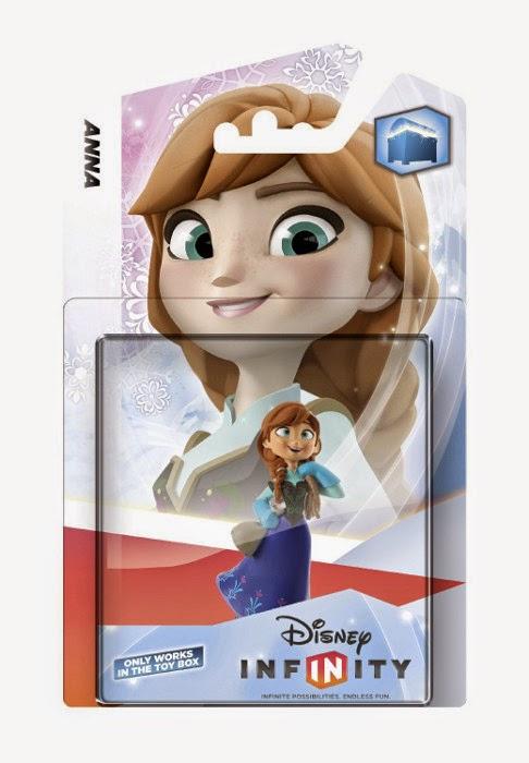TOYS - DISNEY Infinity - Figura Anna : Frozen Producto - Juguete Oficial | Disney | A partir de 7 años | comprar | Este producto es compatible con las siguientes plataformas: Nintendo Wii U, Nintendo Wii, Nintendo 3DS, PlayStation 3 y Xbox 360.