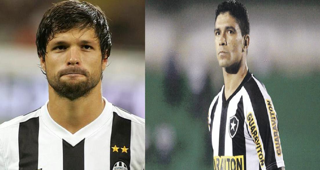 Diego e Renato de volta ao Santos em 2014