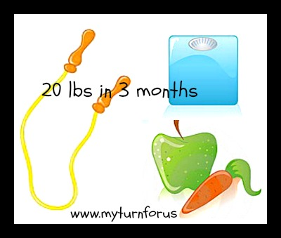 how to lose 20lbs in 2 months