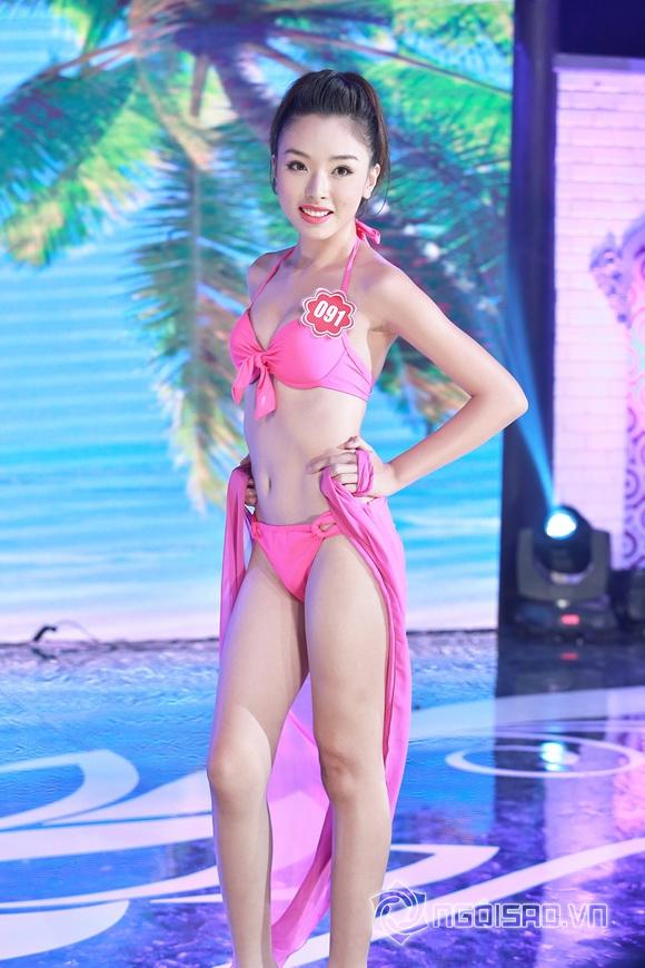Ảnh gái xinh Hoa hậu miền bắc 2014 với bikini 15