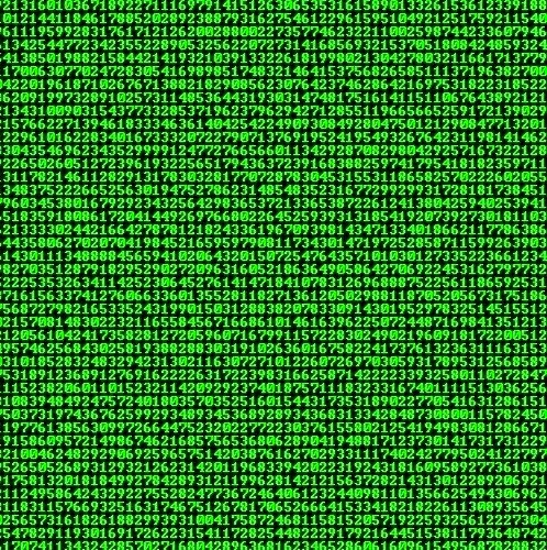 Kiat Menciptakan Effect Matrix Memakai Notepad