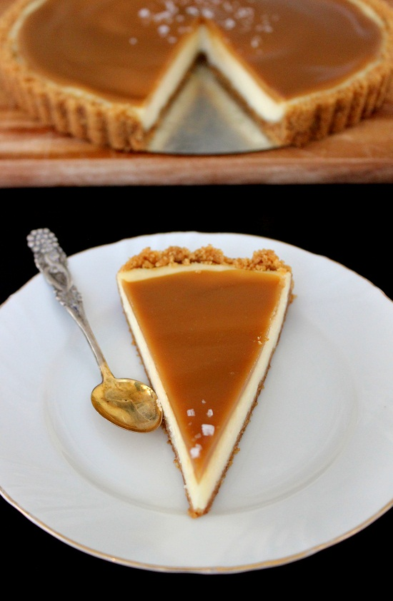 Baksugen: Salted caramel cheesecake pie