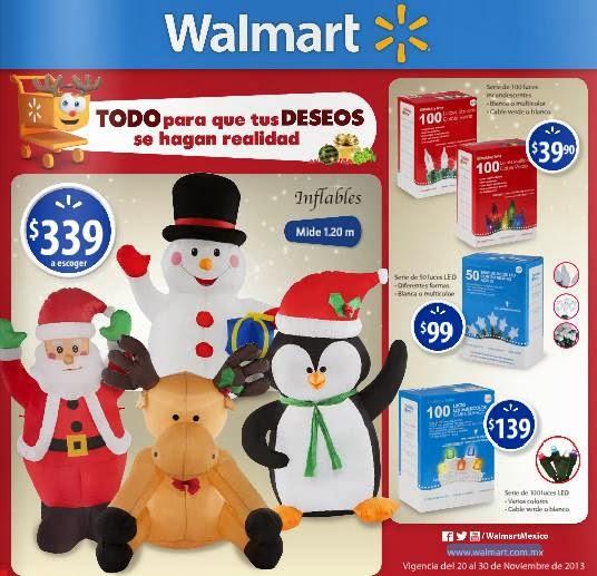 walmart catalogo regalos navidad 2013