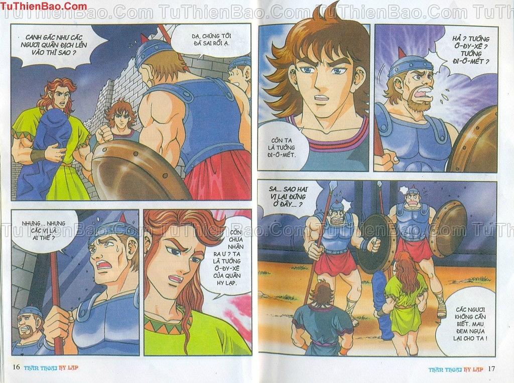 Thần thoại Hy Lạp Chapter 14 - Trang 7
