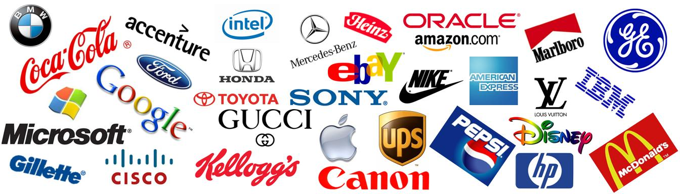 Image Gallery Most Famous Company Logos