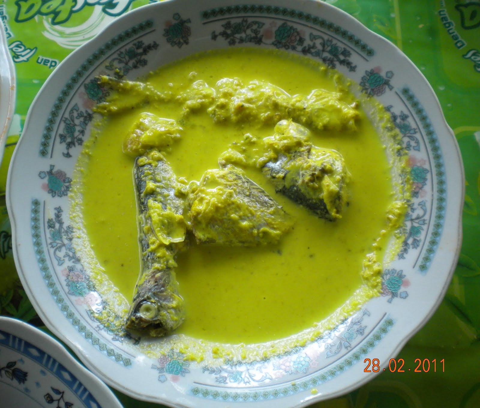 Resep Masakan Pangek Masinsumatera Barat