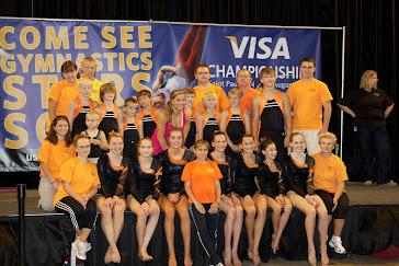 Elite Gymnastics Academy Teams