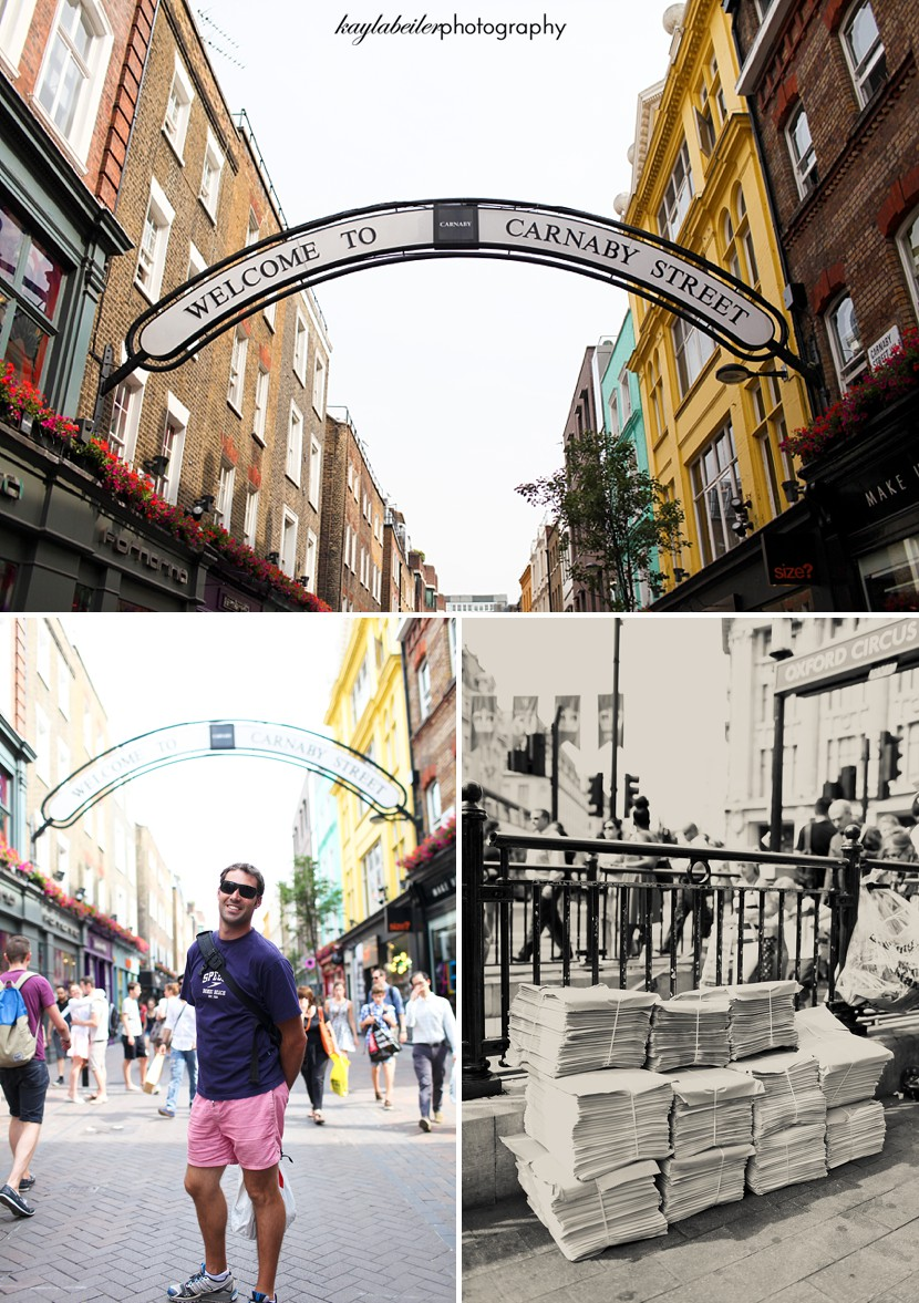 carnaby street london photo