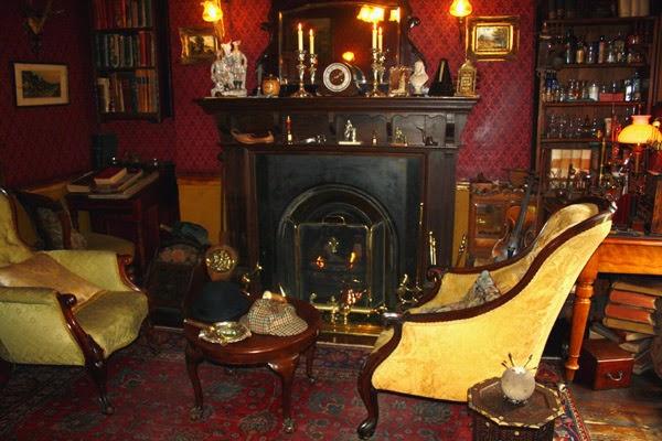 Museu sherlock holmes em londres dica de londres e - Casa de sherlock holmes ...