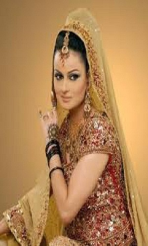 Pakistani actresses in Bridal Dresses