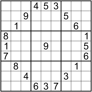 sudoku of the day how to start