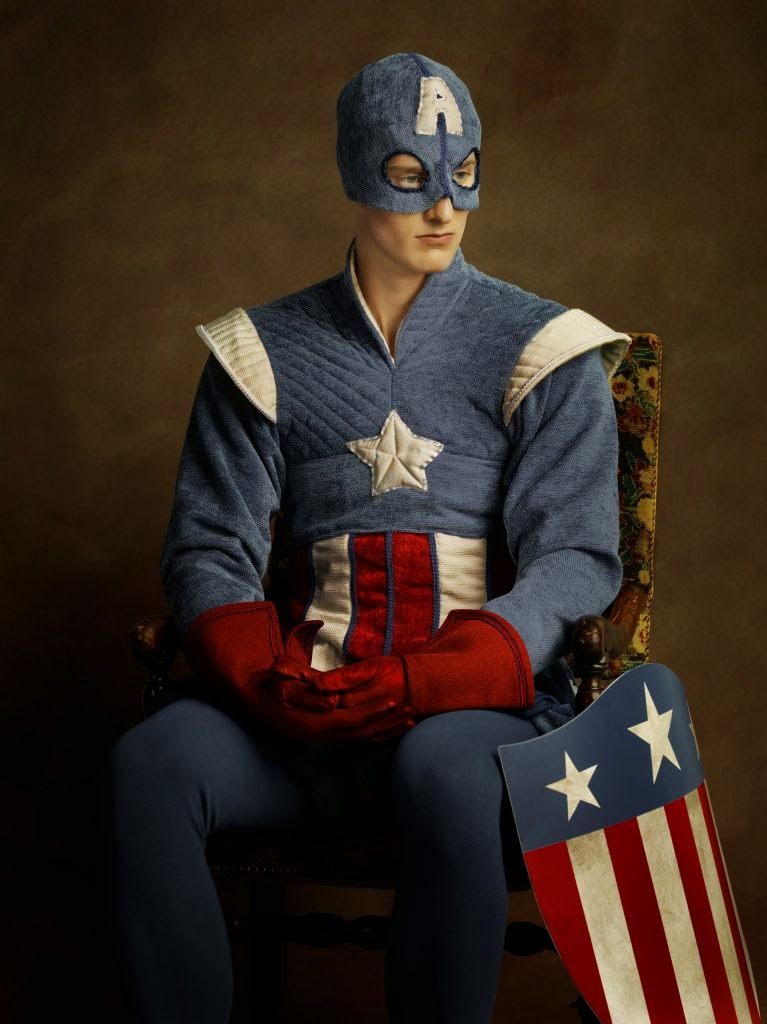 19-Captain-America-Steve-Rogers-Sacha-Goldberger-Superheroes-in-the-1600s-www-designstack-co