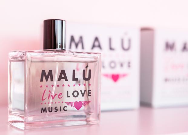 Malú Live, la nueva fragancia de Malú