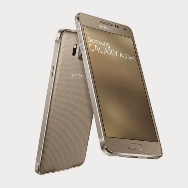 Harga Hp 4G LTE Samsung Galaxy Alpha SM-G850