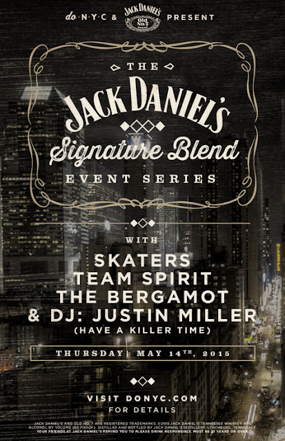 DoNYC and Jack Daniels Event Flyer
