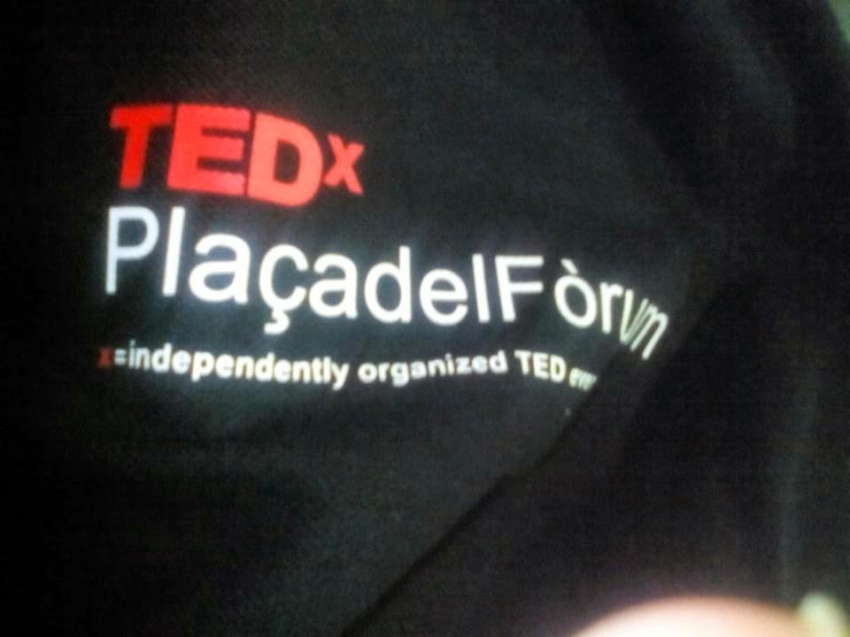 Samarreta del TEDxPlaçadelFòrum