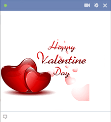 Happy Valentine Day Emoticon