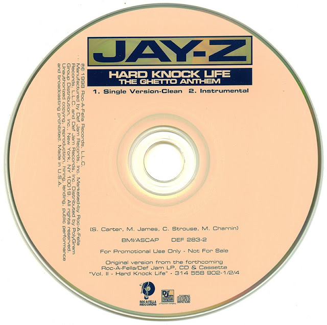 Promo import retail cd singles albums jay z hard knock life ghetto anthem promo cd - Welcome to the ghetto instrumental ...