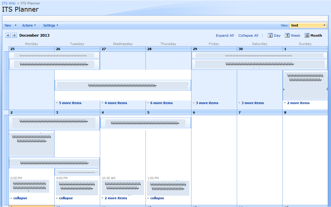 Weekly Calendar View Sharepoint : Sharepoint experiences expand calendar month view