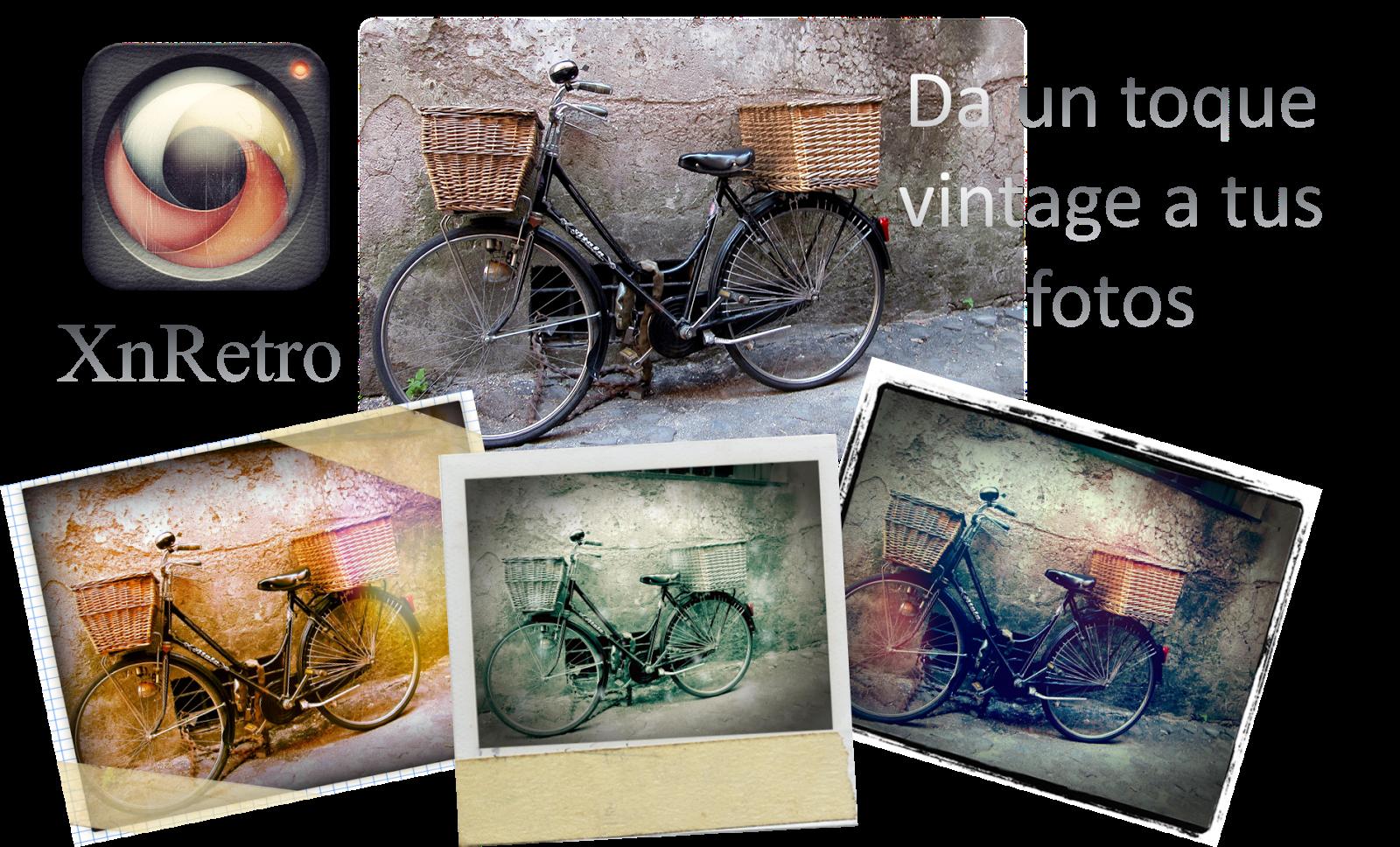 Da un toque vintage a tus fotos con XnRetro