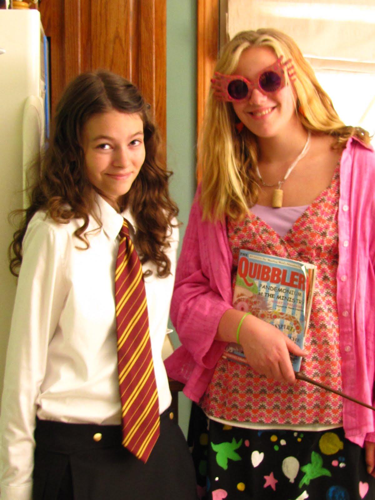 Venturous harry potter extravaganza - Luna lovegood and hermione granger ...