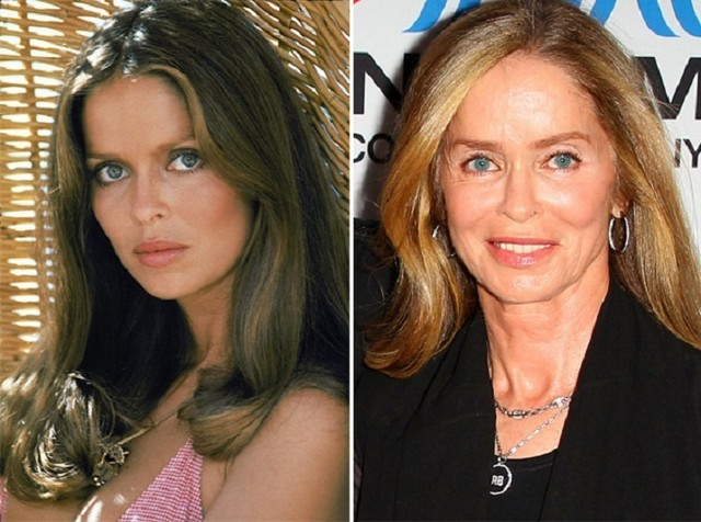 Barbara Bach young and old pictures