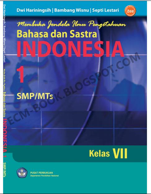Baca Buku Gratis Membuka Jendela Ilmu Pengetahuan Bahasa Dan Sastra Indonesia 1 Untuk Smp Kelas 7