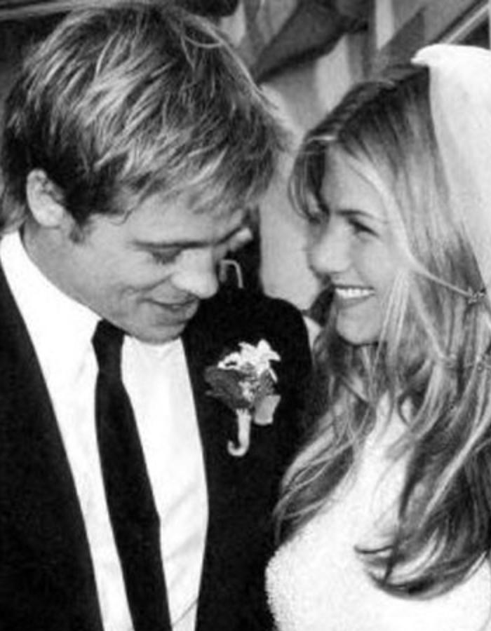 Brad Pitt and Jennifer Anniston Wedding