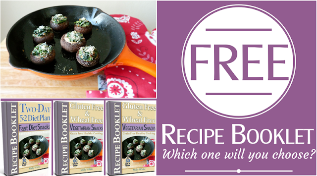 Choose Your Free Snacks Recipe Booklet