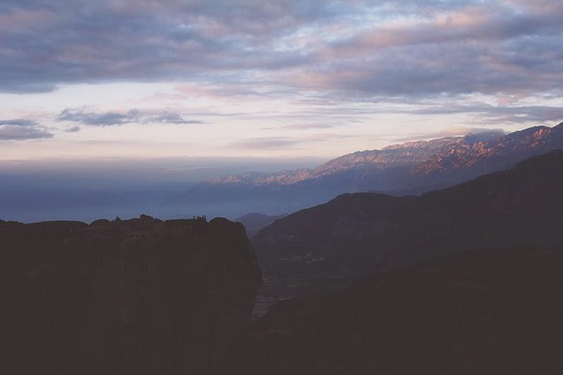 wschód słońca w grecji