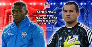 Partido Millonarios Vs Junior – Semifinal de Ida
