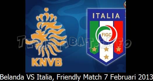 Belanda VS Italia
