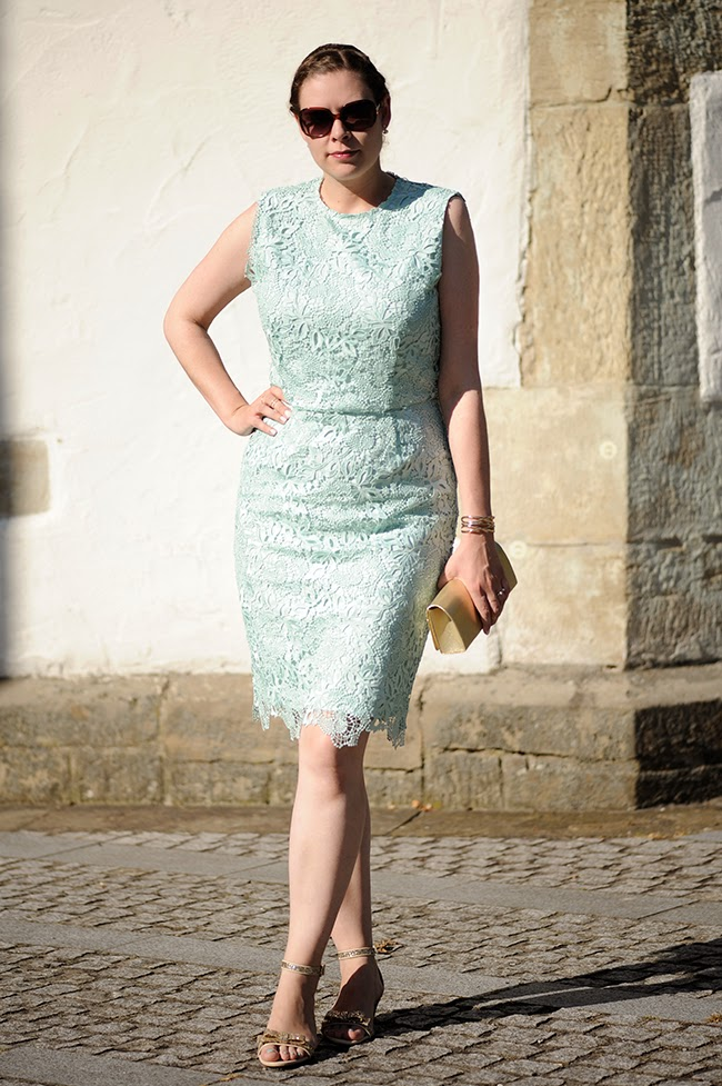 sea of teal hochzeitsgast mintfarbenes spitzenkleid. Black Bedroom Furniture Sets. Home Design Ideas