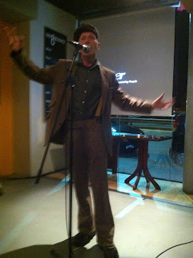 James King performing Live@8 September 2011