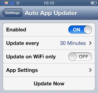 Cara membuat aplikasi iPhone iPad iPod Touch update secara otomatis