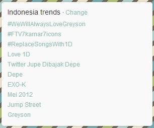 Twitter Jupe Dibajak Depe Menjadi Trending Topic Twitter