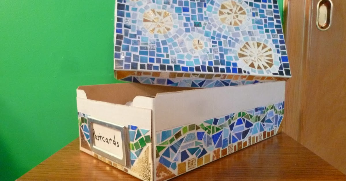 Mosaic Box Finished! (+ Mosaic Tutorial)