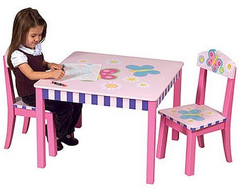 Mesas mesas infantiles - Mesa infantil madera ...