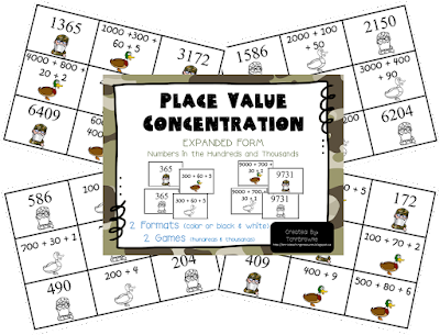 https://www.teacherspayteachers.com/Product/Duck-Dynasty-Place-Value-Concentration-Hundreds-and-Thousands-882017?aref=zd5wvp7k