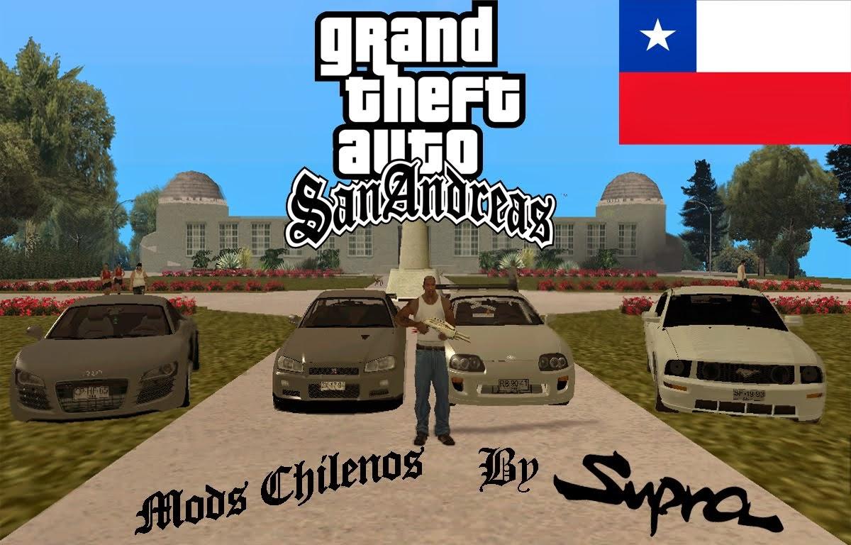 GTA San andreas Mods Chilenos