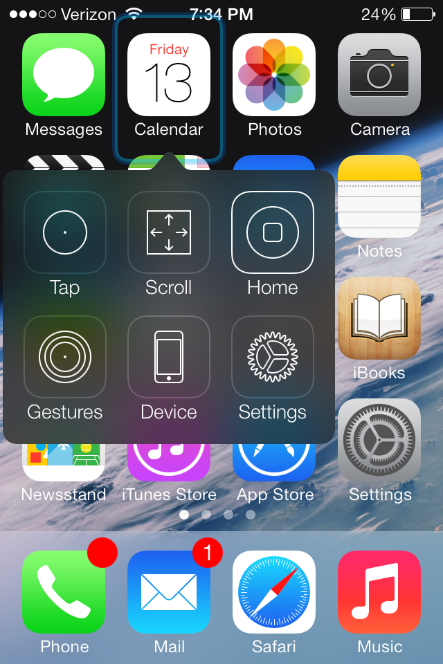 The Second iOS 7 Beta Includes A New Clock Icon In Control Center