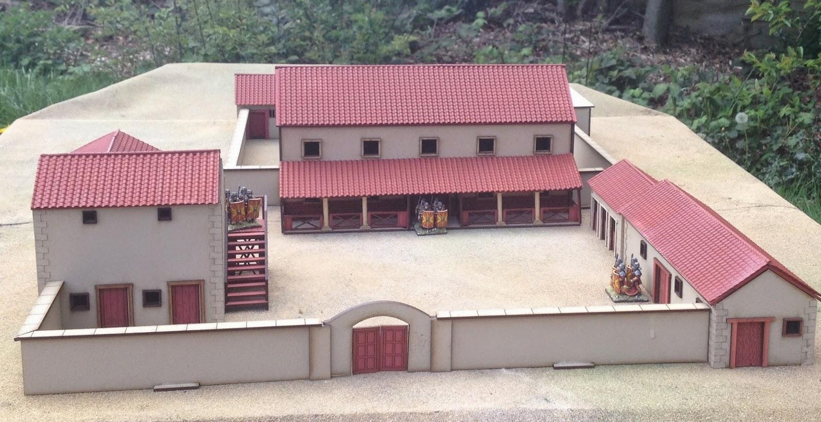 How To Make A Model Roman Villa