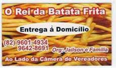 O Rei da Batata Frita (Disque)