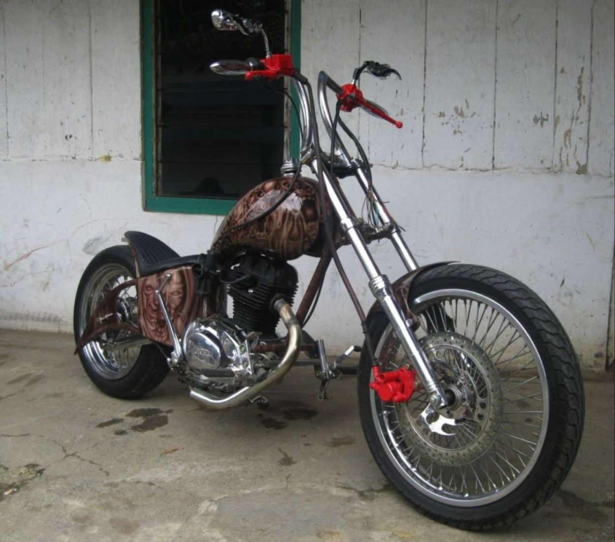 Modifikasi Motor CB