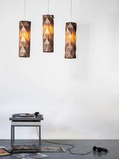 Lámpara Origami de diseño