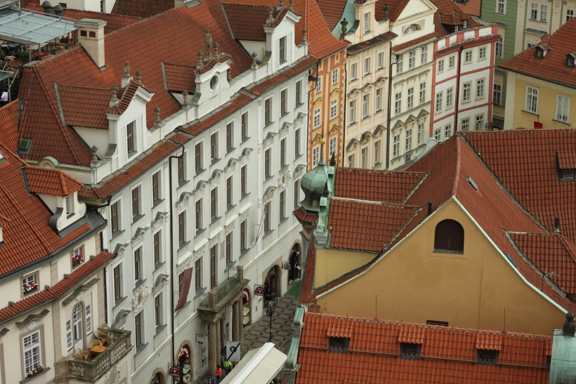Prague from Clock Tower