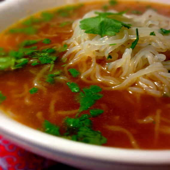 Vegetarian Shirataki #lowcaloriesoup